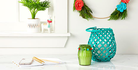 Brighten up your indoor decor with new summer decor at Big Lots