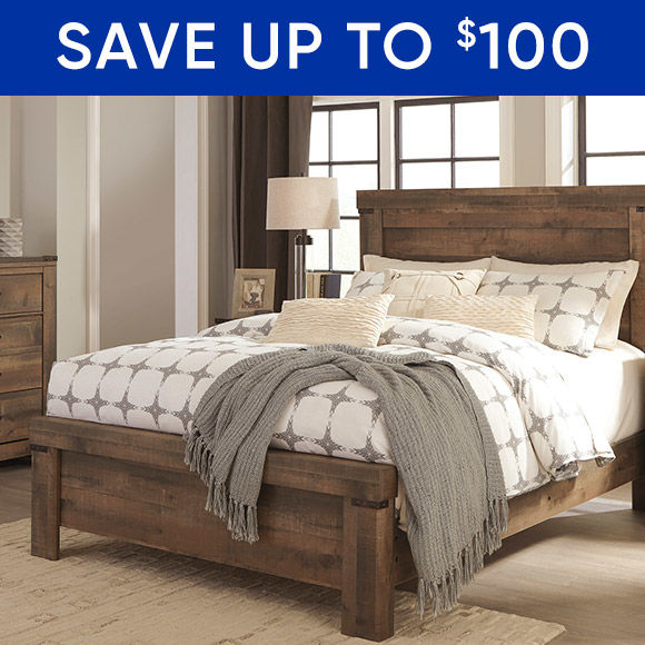 Save up to $100 on furniture