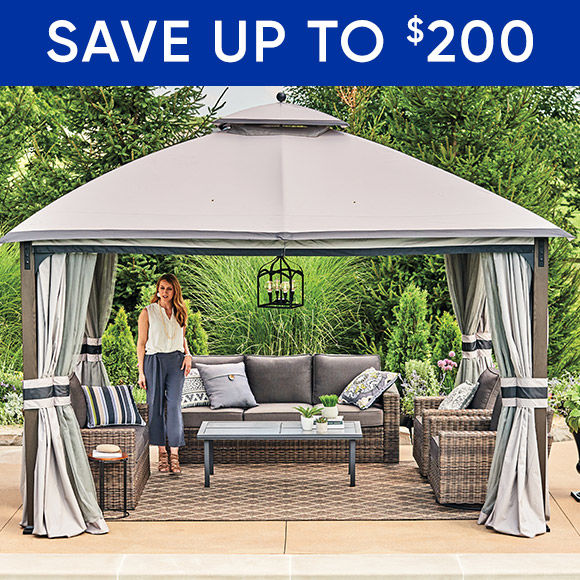 Save $200 on Patio Furniture