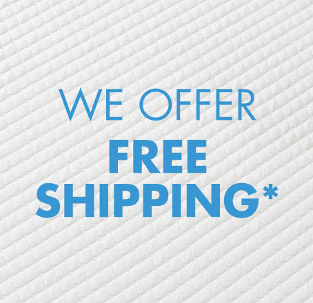 Free Shipping on all mattresses in a box