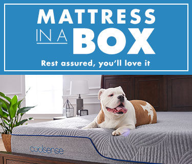 Mattress in a box. Rest assured, you'll love it.