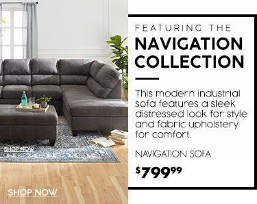 Navigation Collection. Navigation Sofa Starting at 799.99 dollars