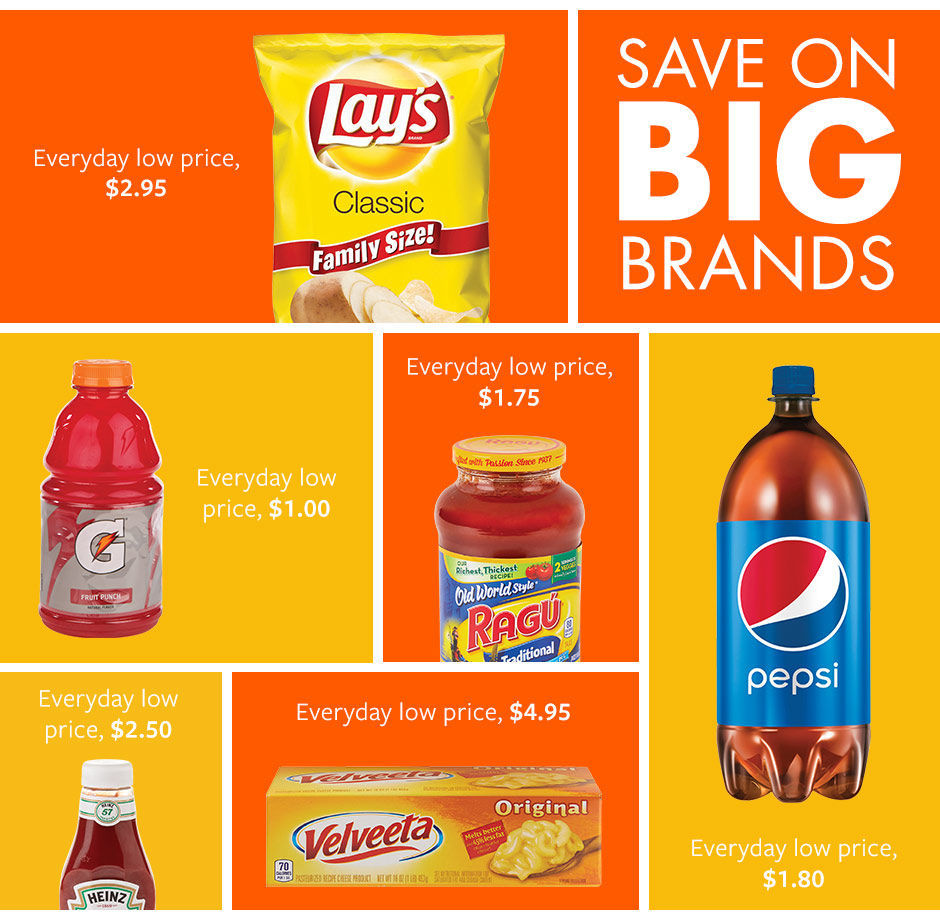 Save Big on Brands