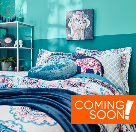 New Bedding and Décor Collection Coming Soon!