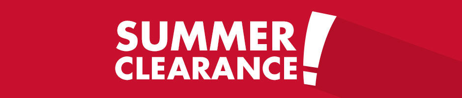 Limited time. Summer Clearance.