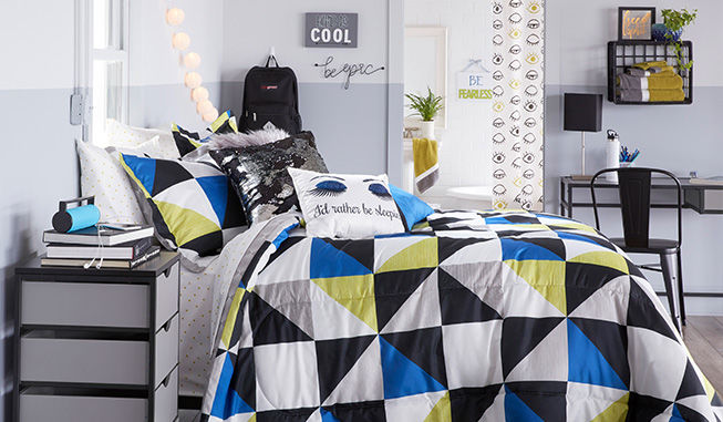 Eclectic Geometric Bedding Collection