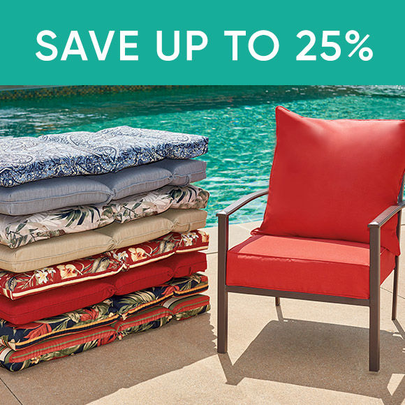 Save Up To 100 Dollars Patio Cushions