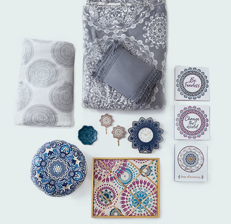 Medallion Decor Collection. Shop Now.