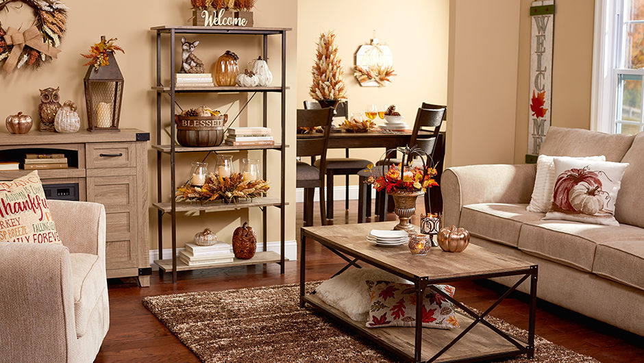 Autumn Radiance Collection and Decor