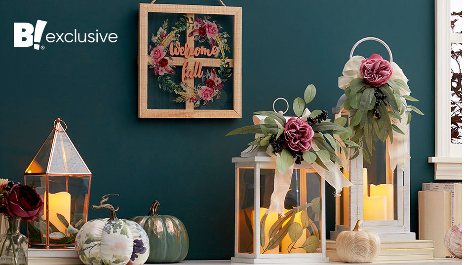 Harvest Bloom Fall Decor Collection, a Big Lots Exclusive.