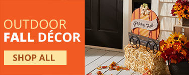 Shop Outdoor Fall Decor now!
