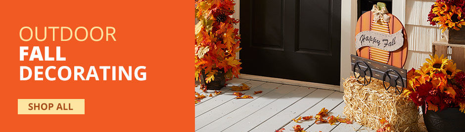 Outdoor Fall Decorations. Shop All.