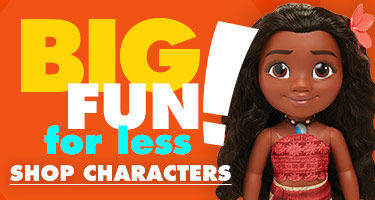 Big Fun For Less! Shop Characters