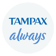Browse Tampax & Always feminine hygiene items