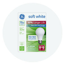 Shop GE energy efficient lightbulbs and more