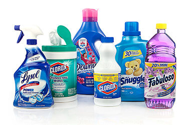 Find cleaning supplies in store from Lysol, Clorox, Downy, Snuggle and more