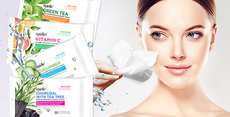Amazing deals on facial cleansing wipes in store!