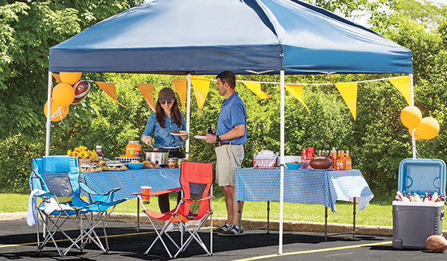Outdoor Furniture Gazebos Chairs More Big Lots - Outdoor table tent