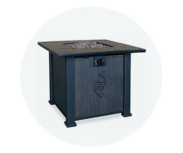Fire pit tables 20 percent off