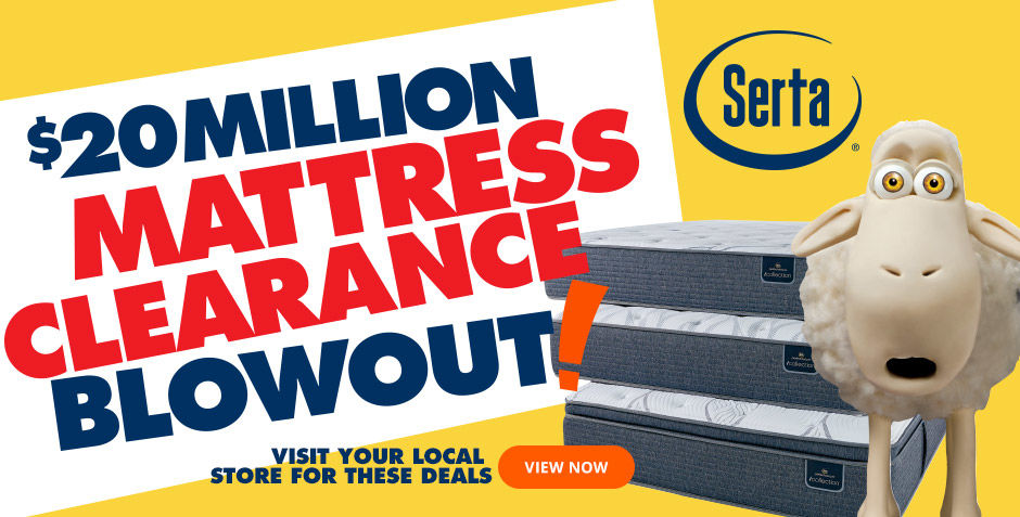 Twenty Million Dollar Mattress Clearance Blowout
