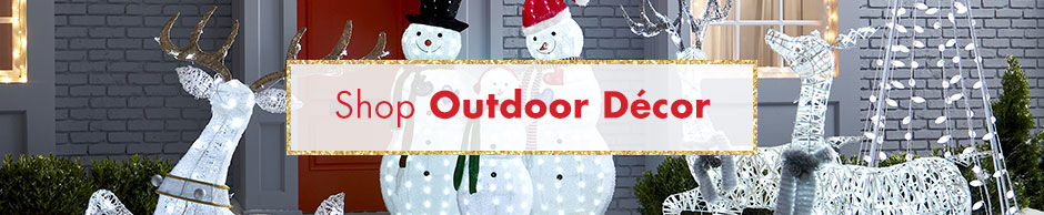 Shop Outdoor Christmas Decorations