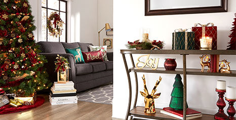 Festive Blooms living room decor