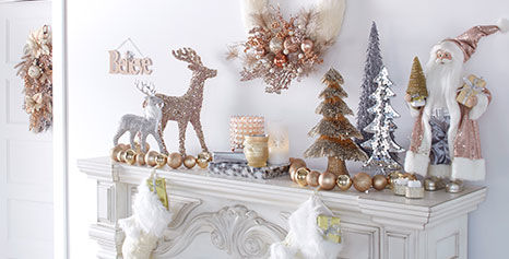 Enchatment holiday decor for your mantel