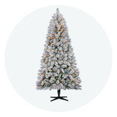christmas trees - Big Lots White Christmas Tree