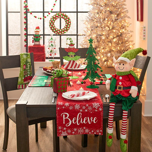 elf decor collection - Big Lots Christmas Decorations