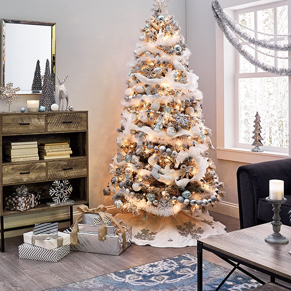 shimmer decor collection - Big Lots Christmas Decorations