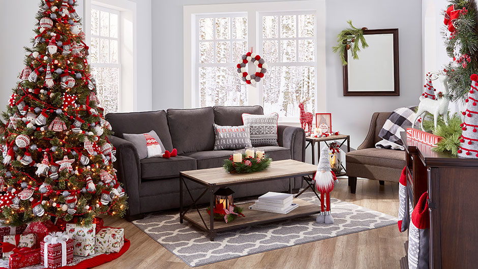 merry moments modern christmas decor - Big Lots Christmas Decorations