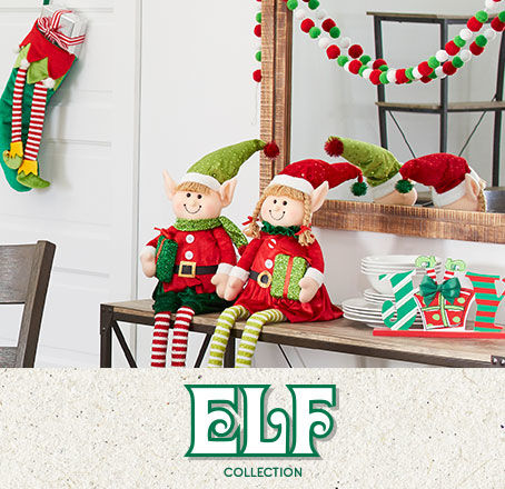 Elf Holiday Decor Collection
