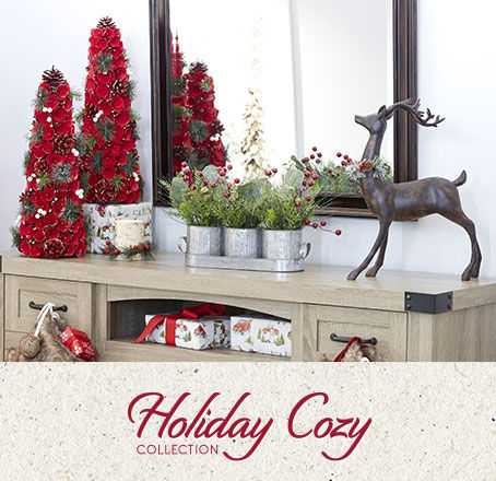 Holiday Cozy Decor Collection