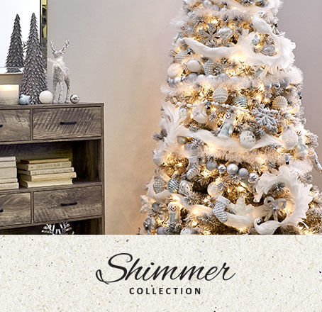 Shimmer Holiday Decor Collection