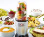11 Piece Blender Set Silo Image Front View With Food