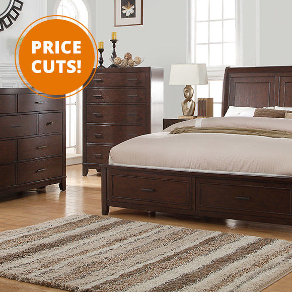 Price Cuts on Bedroom Furniture