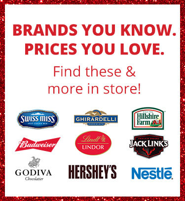 Brands You Know. Prices You Love. Find a Store.