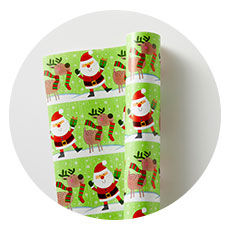 Bright Colored Wrapping Paper