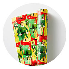 Elf Wrapping Paper