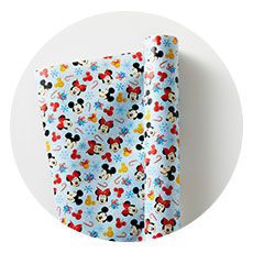 Mickey and Minnie Mouse Wrapping Paper