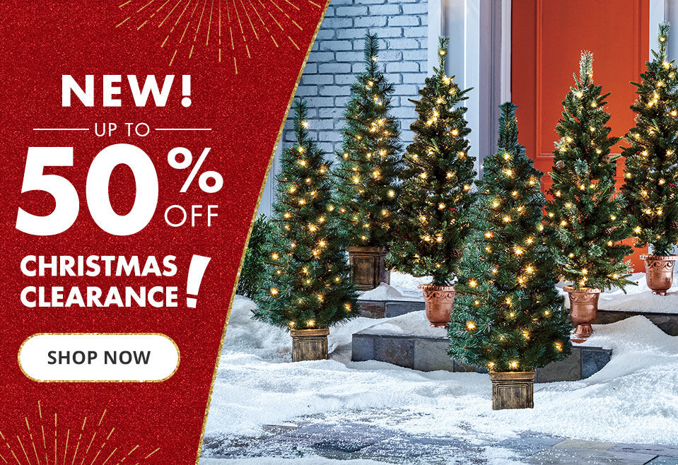New. Up to 50 percent off Christmas clearance. Shop now.