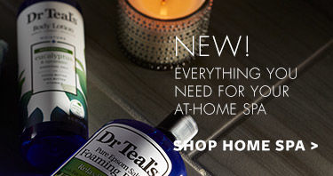 New! Everything you need for your at-home spa. Shop home spa.