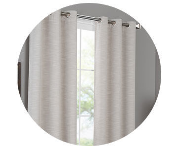 Curtains, Rods, and Hardware