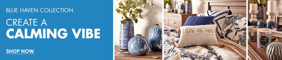 Blue haven collection Create a calming vibe shop now