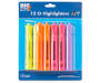 12Ct Asst Jumbo Highlighters