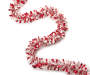 12FT RED/WHITE BOA TINSEL GARLAND