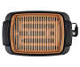 12X16 IN SMOKELESS GRILL, BLACK/COPPER