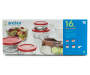 16 Piece Glass Food Storage Set in Box Silo Image