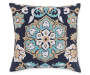 17 IN ABBY NAVY DAMASK PILLOW