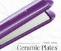 1inch Ceramic Digital Hair Straightener silo front iron close up